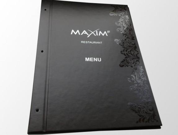 Изготовление меню для ресторана