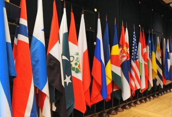Комплект флагов для установки