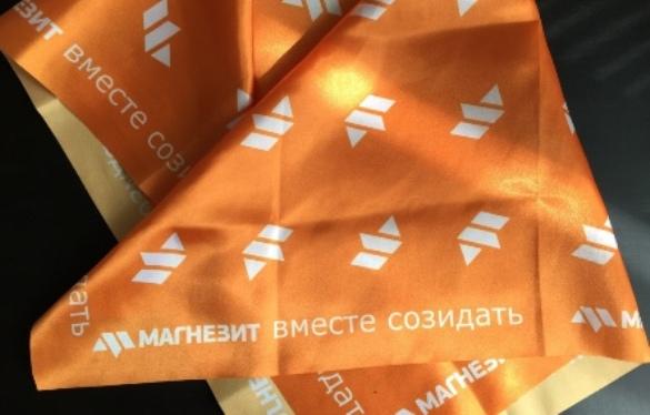 Доставка оплаченной печати на ткани