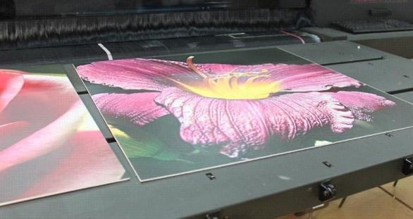 Печать фото на пластике дешево
