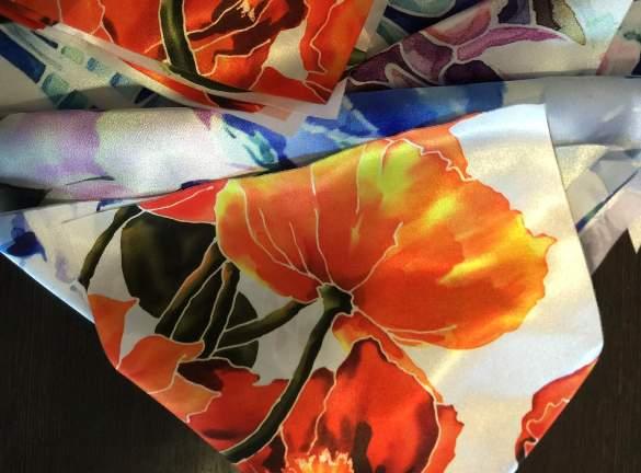 Свойства прямой печати по ткани