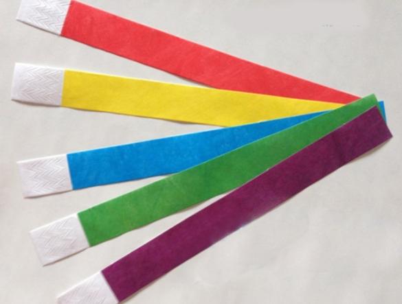 Бумажные браслеты изготовление с доставкой по РФ