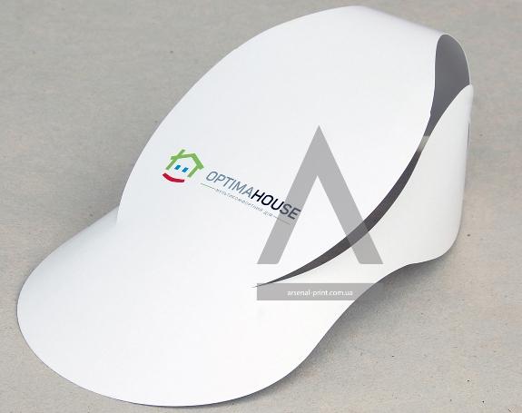 Бумажные кепки с логотипом на заказ