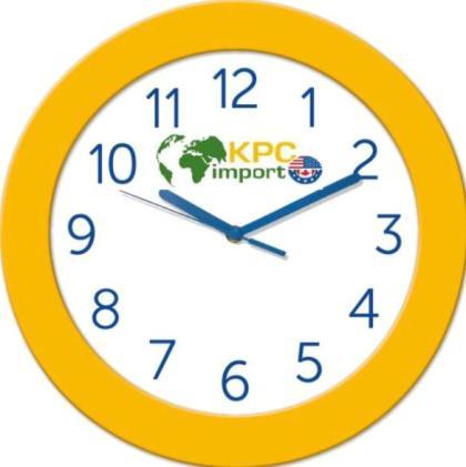 Часы настенные с нанесением логотипа и фирменного стиля компании