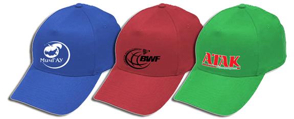 Изготовление кепок с логотипом компании