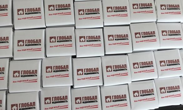 Изготовление корпоративного фирменного шоколада недорого