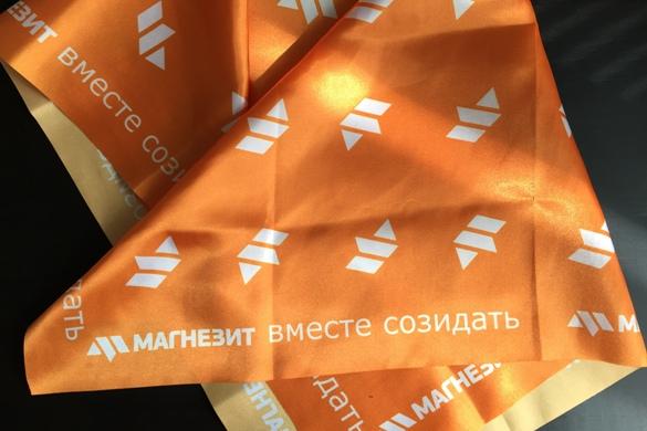 Косынки и платки с логотипом заказать срочно