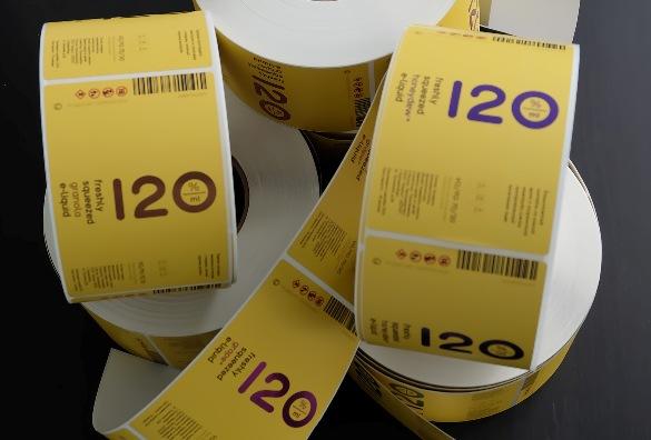 Печать виниловых наклеек и стикеров
