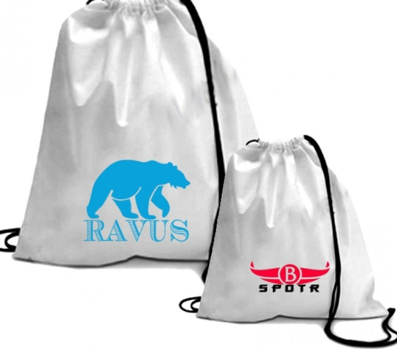 Нанесение логотипа на мешки