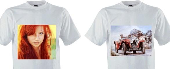 Фотопечать на футболках и майках