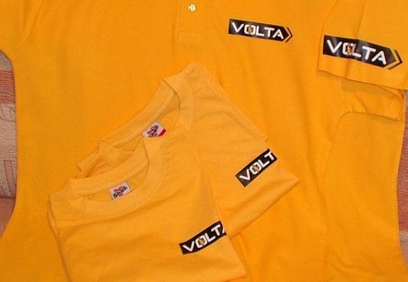 Печать изображений и логотипов на футболках качественно