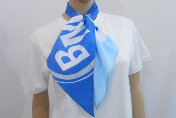 Платки и галстуки с логотипом компании