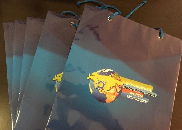 Подарочные бумажные пакеты с лого и брендом заказать