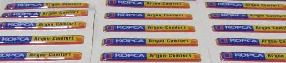 Доставка объемных и полимерных наклеек по России