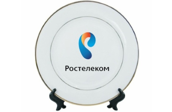 Тарелки с логотипом компании заказать
