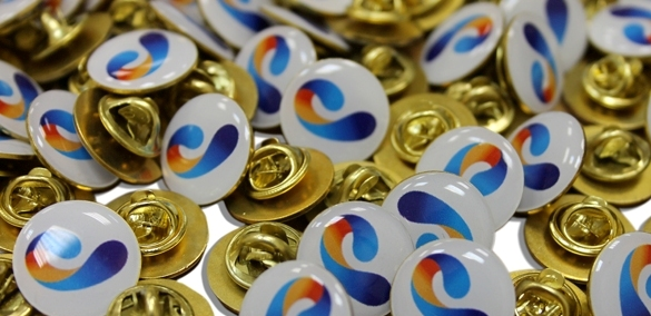 Технология производства значков с логотипом компании