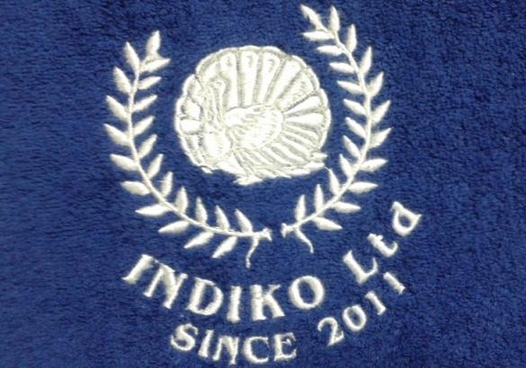 Сделать вышивку имени и инициалов на полотенце